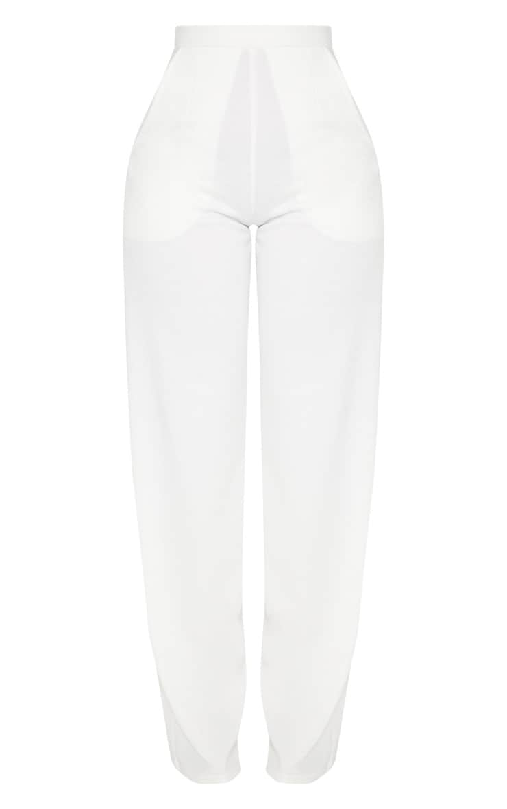 Shape White Wide Leg Trousers 3