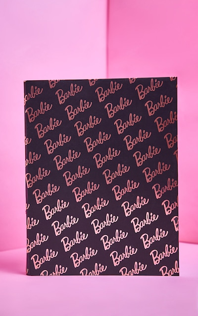 Barbie Black Ring Binder