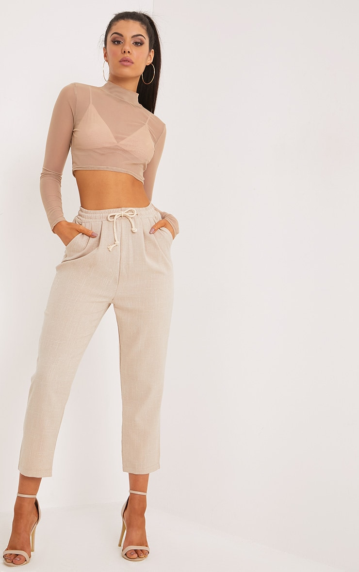 Diya Stone Casual Trousers