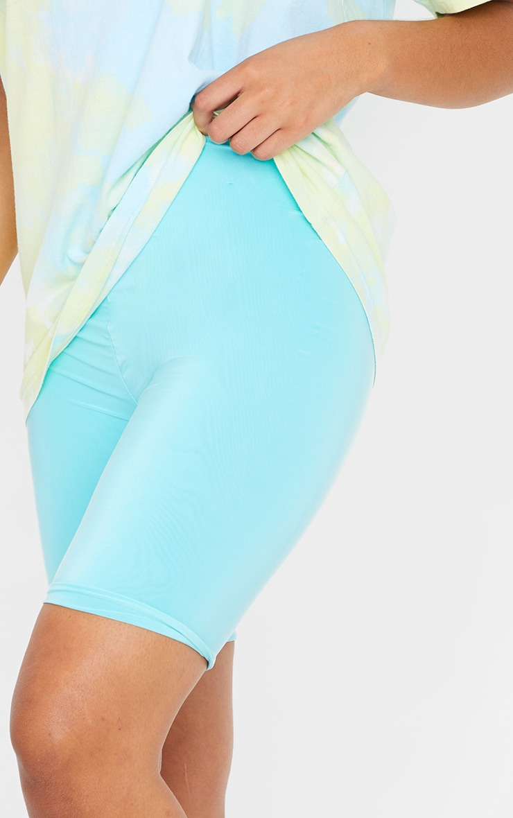 Aqua Slinky Bike Shorts 5