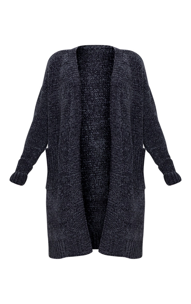Charcoal Chenille Cardigan 3