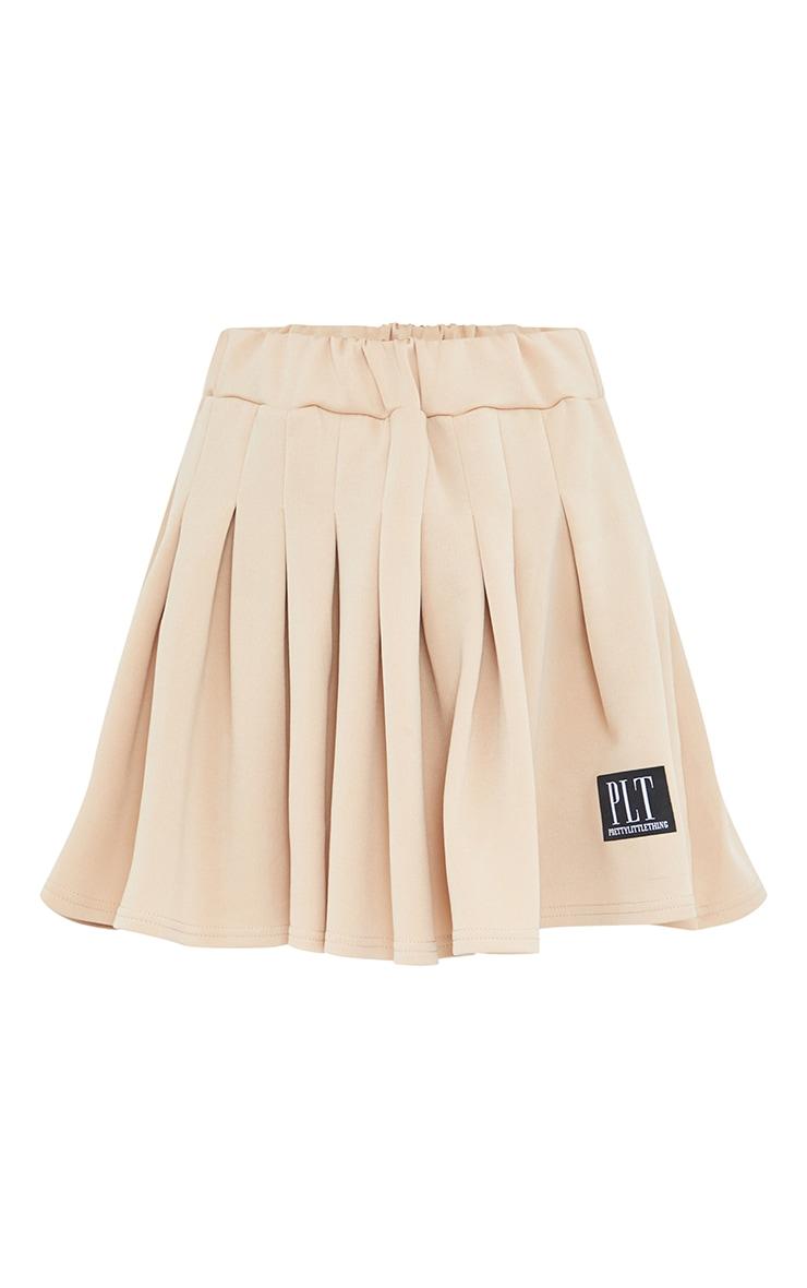 PRETTYLITTLETHING Petite Stone Tennis Skirt 6