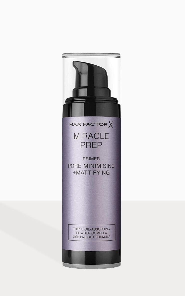Max Factor Miracle Prep Mattifying & Pore Minimising Primer 1