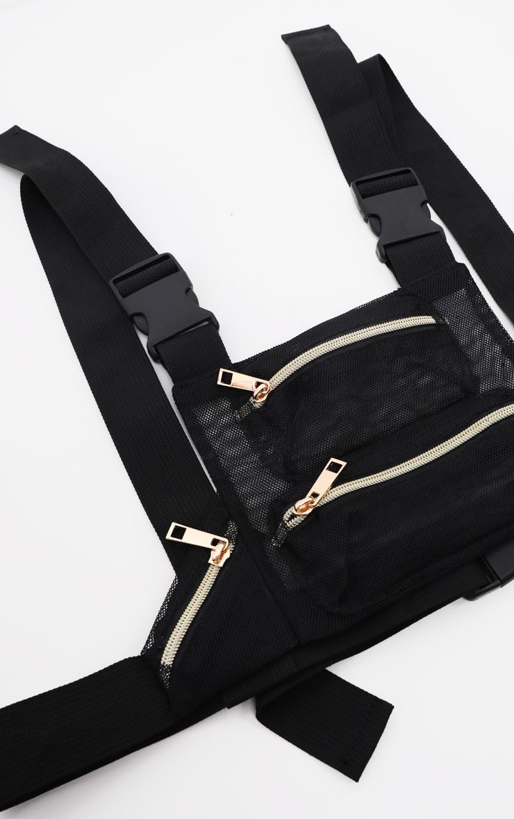 Black Mesh Front Bag 2