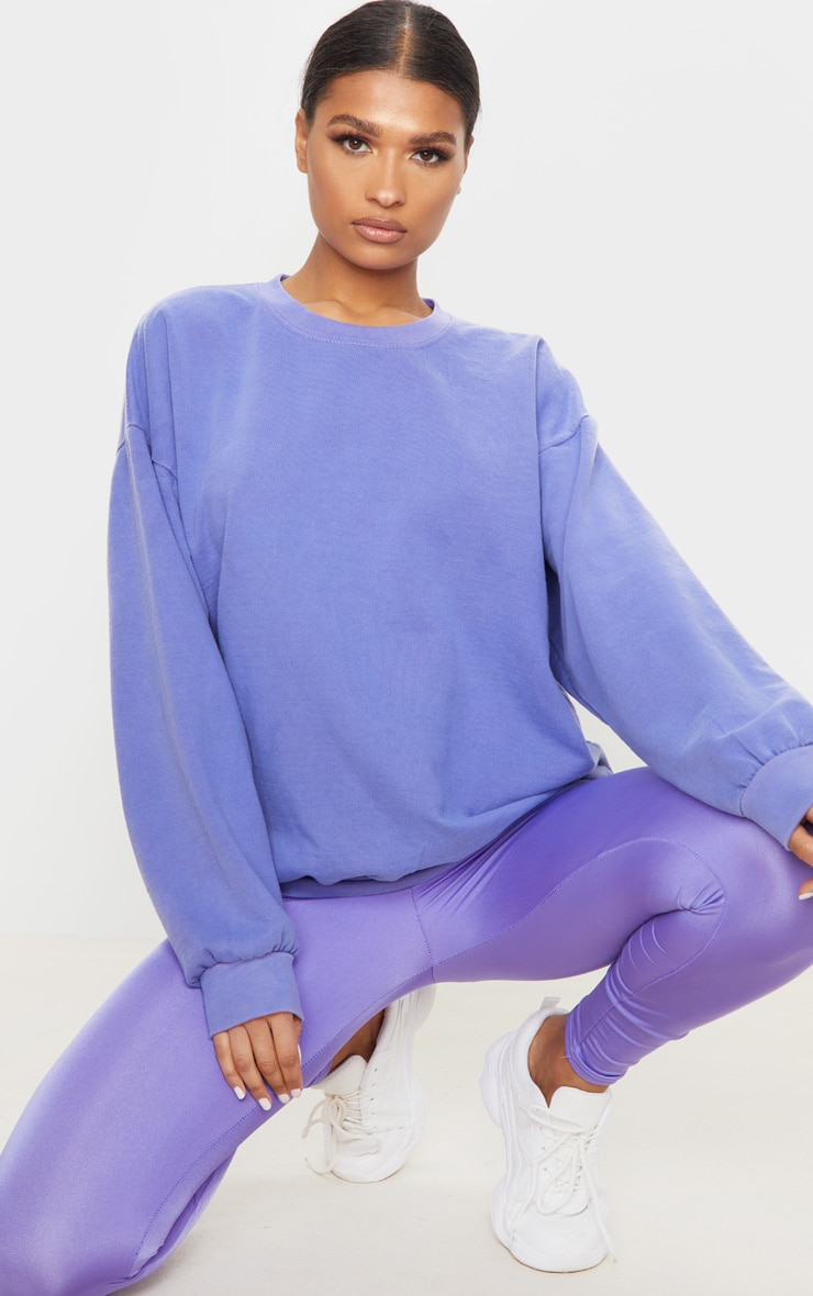 Lilac Ultimate Oversized Sweatshirt 1