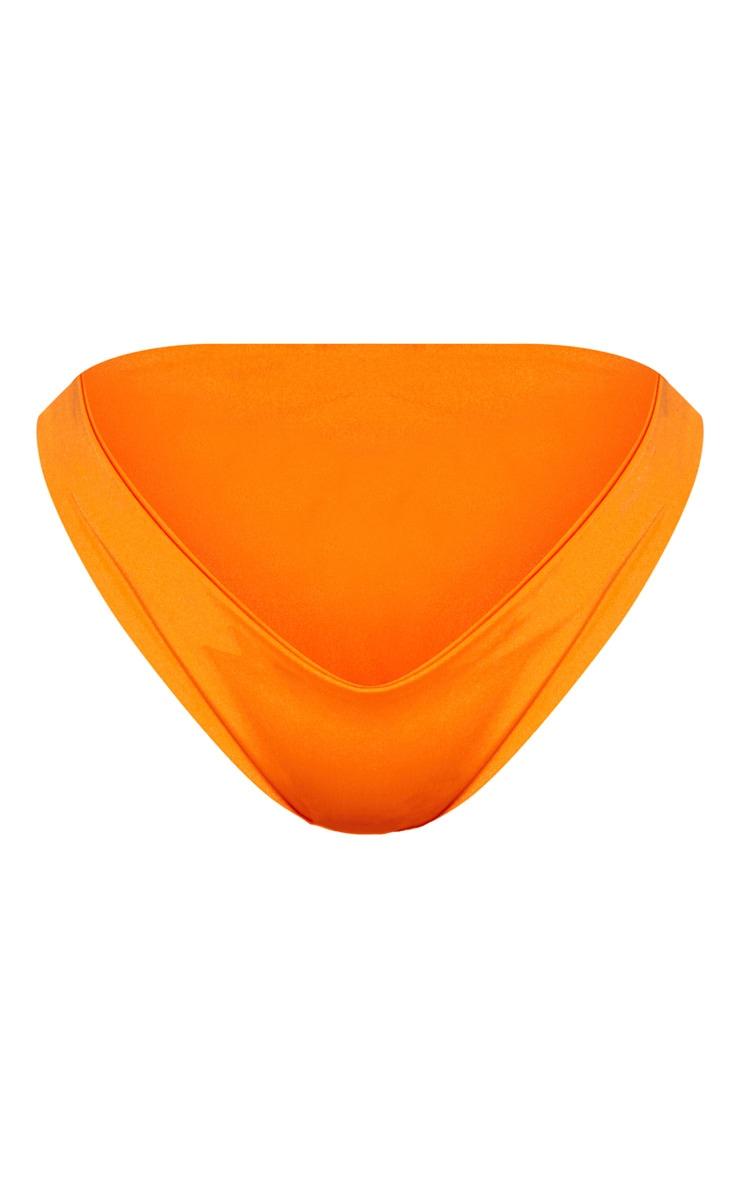 Shape Orange Tiny Bikini Bottom 3