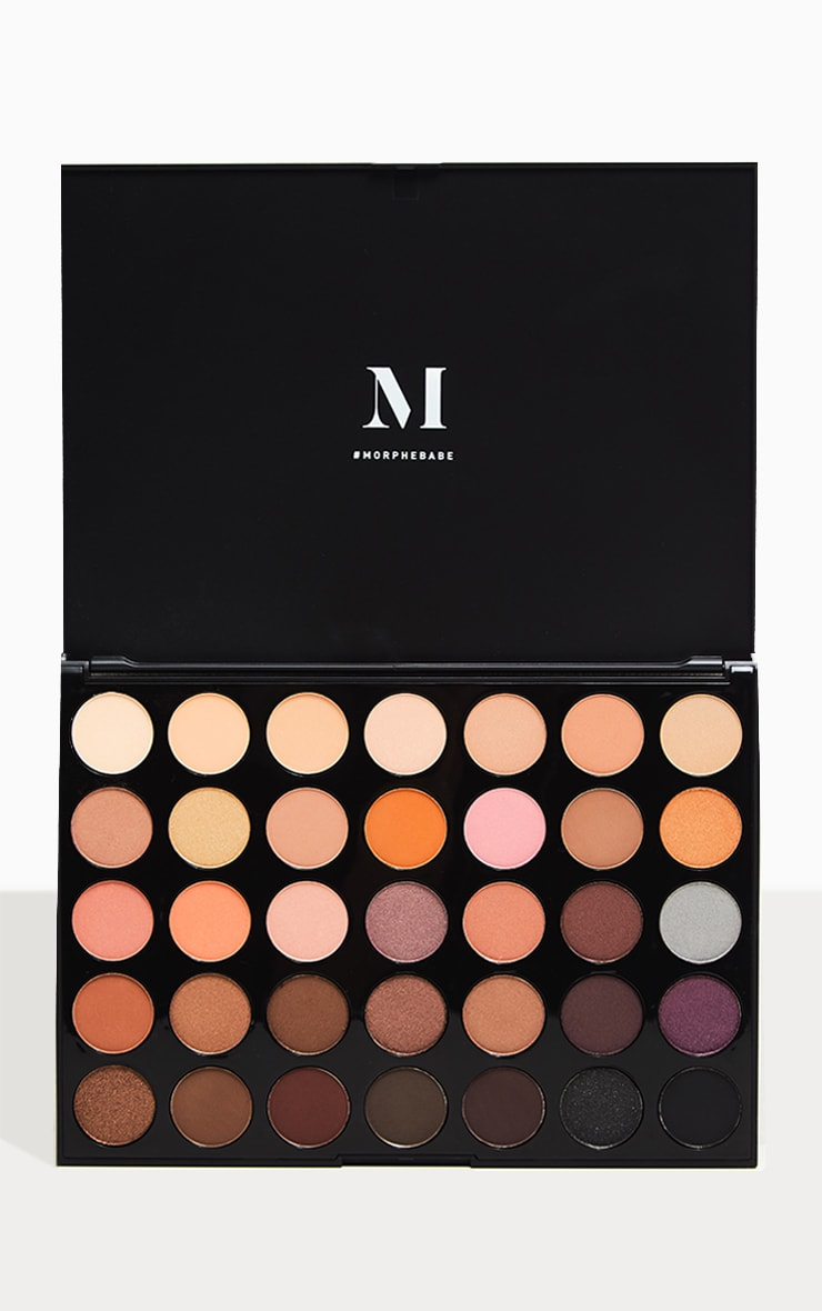 Morphe 35W Warm It Up Eyeshadow Palette 1