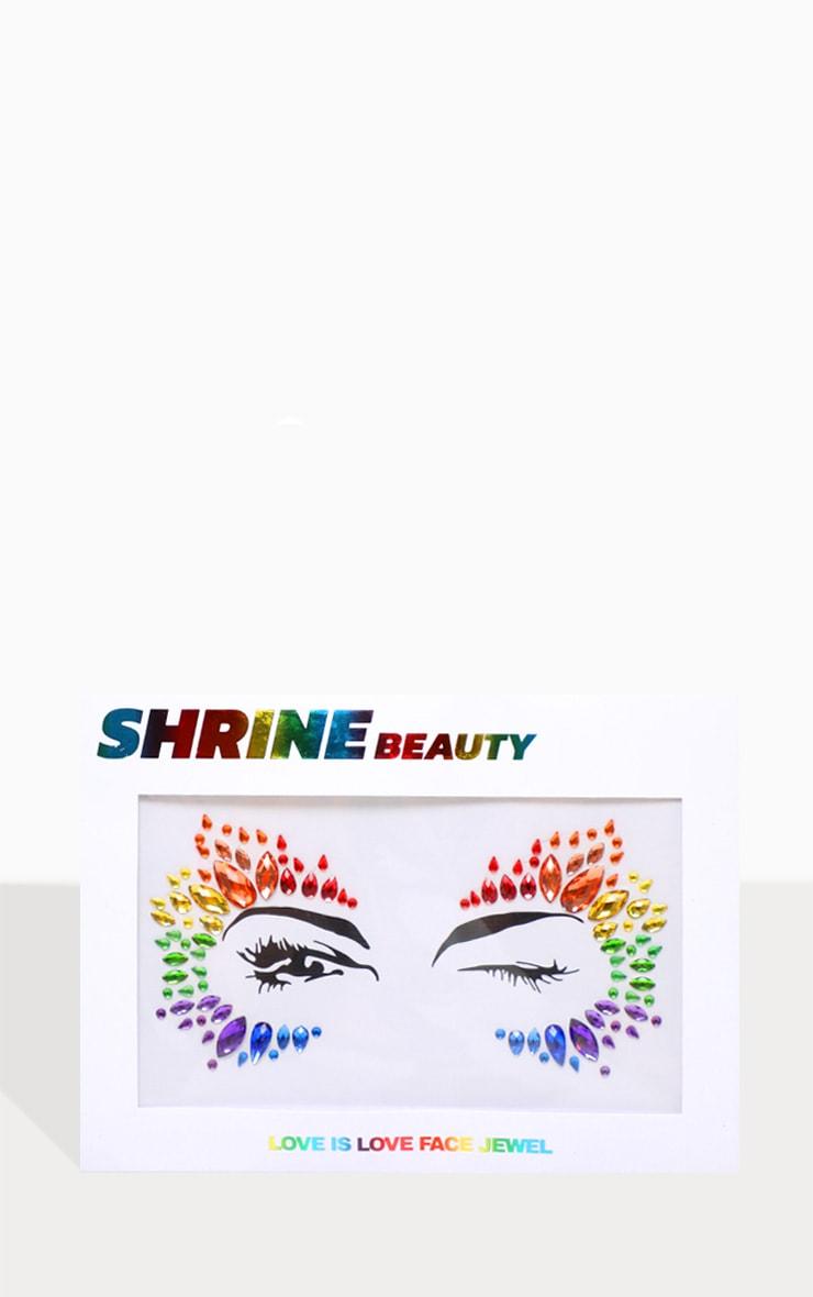 SHRINE Love Is Love Face Jewel 1