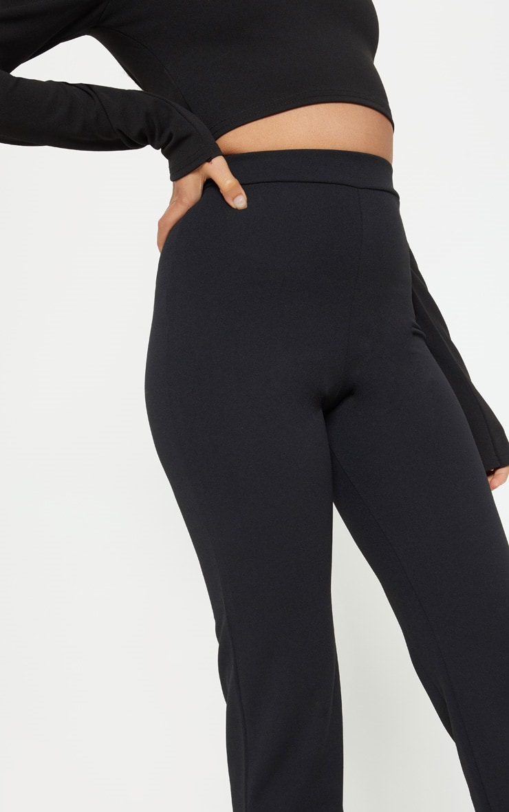 Petite Black Cropped Trousers 5