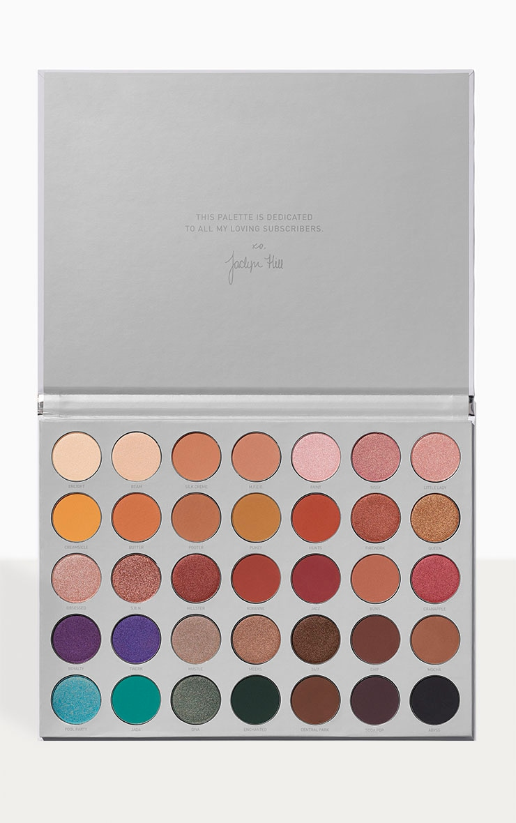 Morphe X The Jaclyn Hill Eyeshadow Palette 1