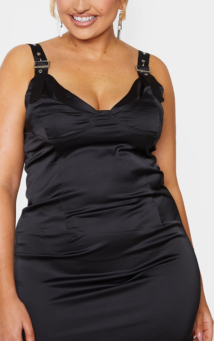 Online black bodycon dress plus size x bra