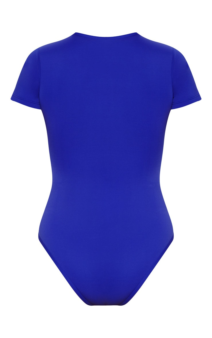 Cobalt Scuba Zip Up Swimsuit 4