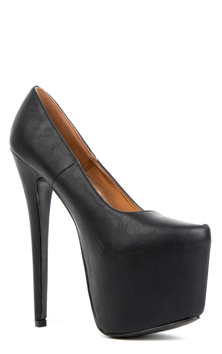 Ami Black Stiletto Heels 2