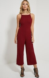 3dbf07d0ff Moses Wine Culotte Jumpsuit image 3