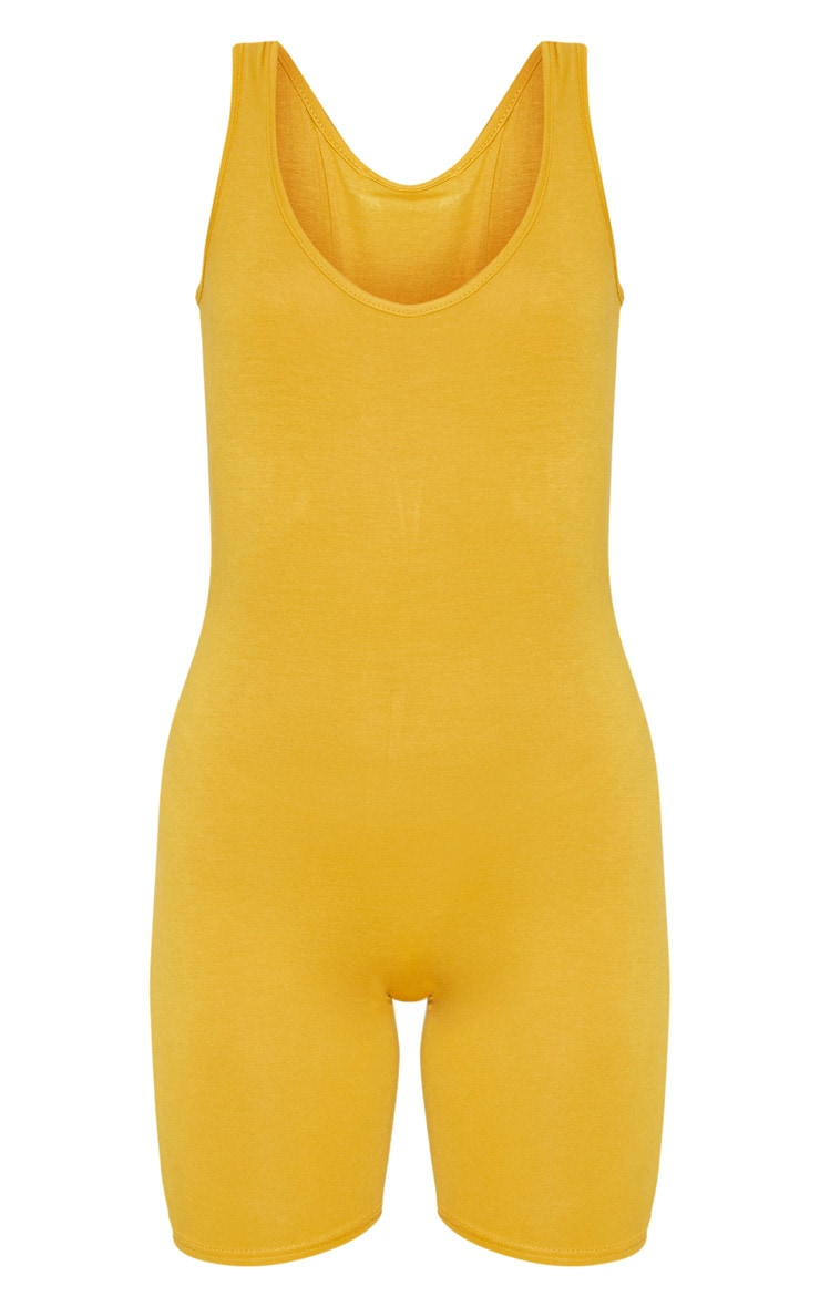 Mustard Unitard 3