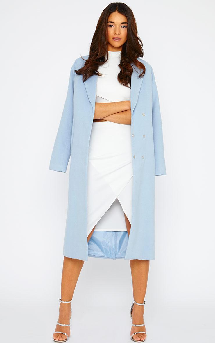 Lia Cream Wrap Midi Skirt 5