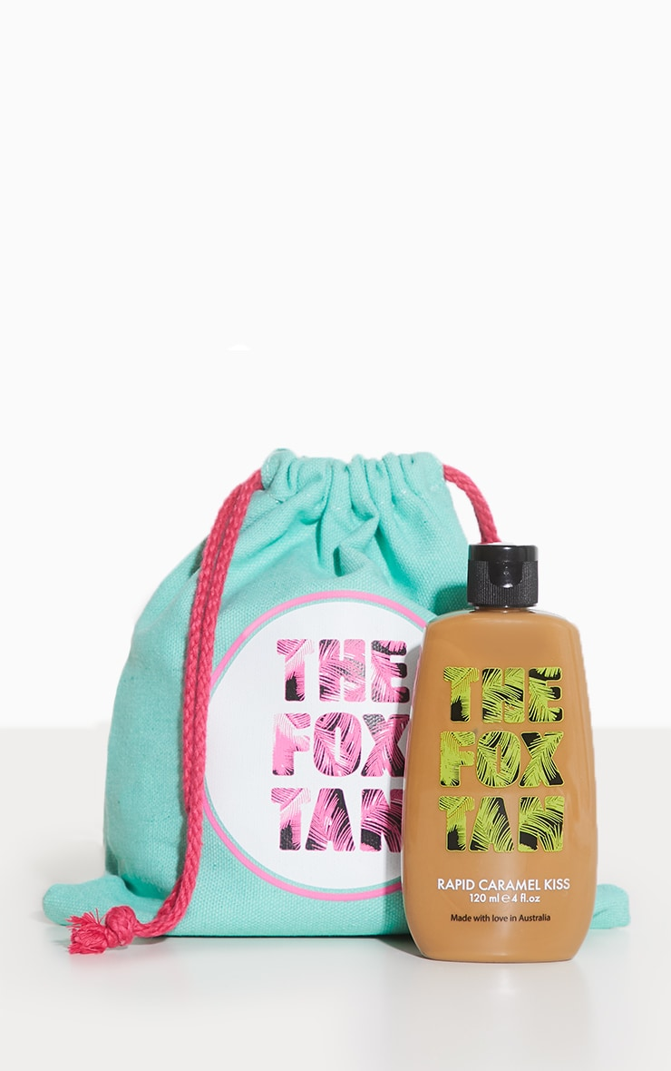 The Fox Tan Rapid Tanning Elixir Caramel Kiss 120ml 2