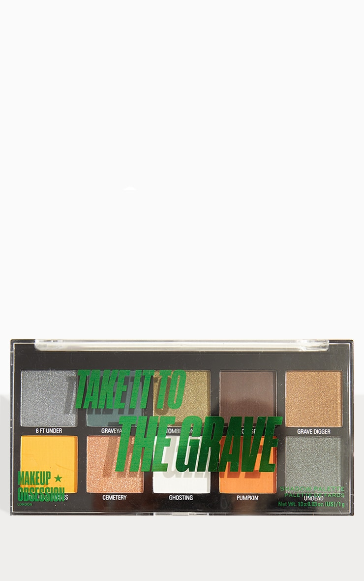 Makeup Obsession Halloween Take It to the Grave Shadow Palette 2