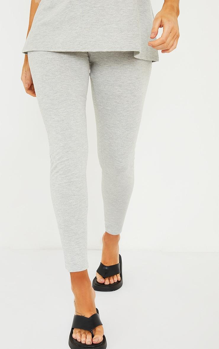 Maternity Grey Bump Support Leggings 2