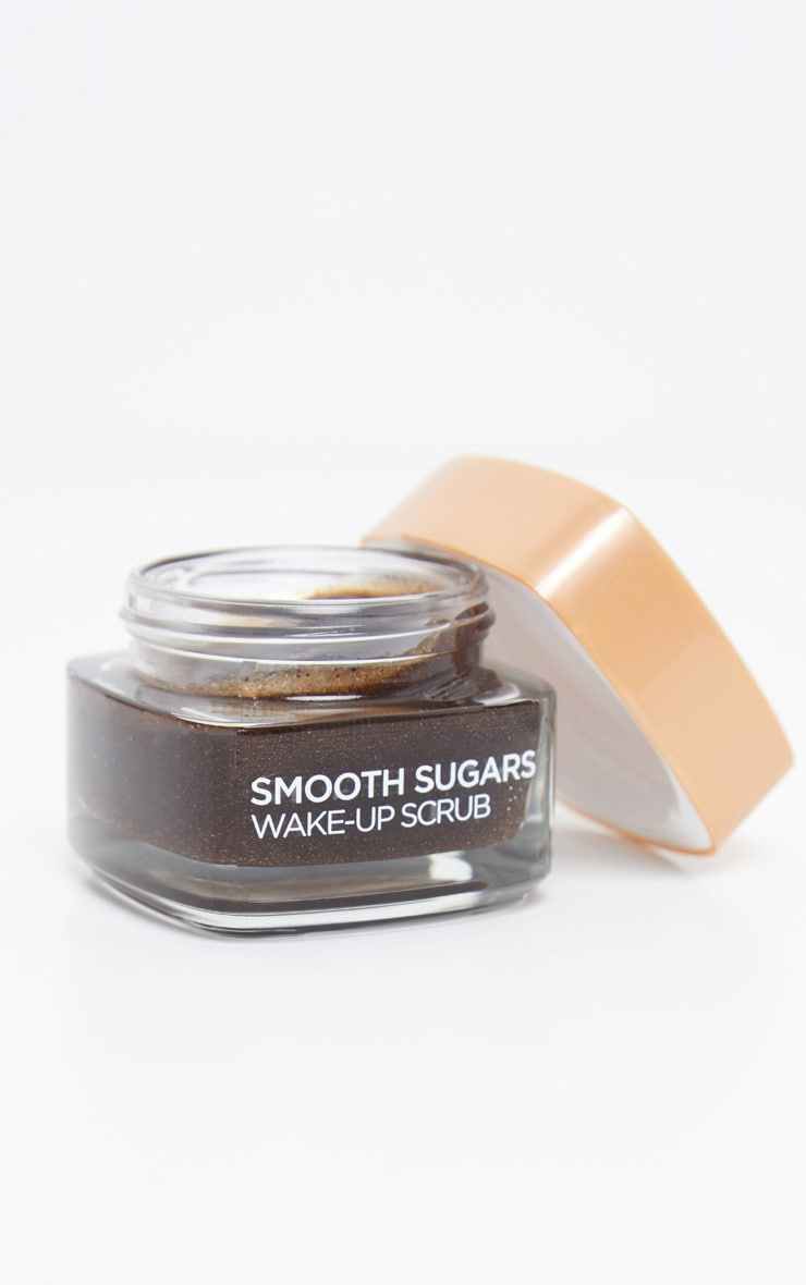 L'Oreal Paris Smooth Sugar Wake-Up Coffee Face and Lip Scrub 50ml 1