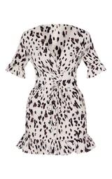 Stone Leopard Print Corset Swing Dress 5