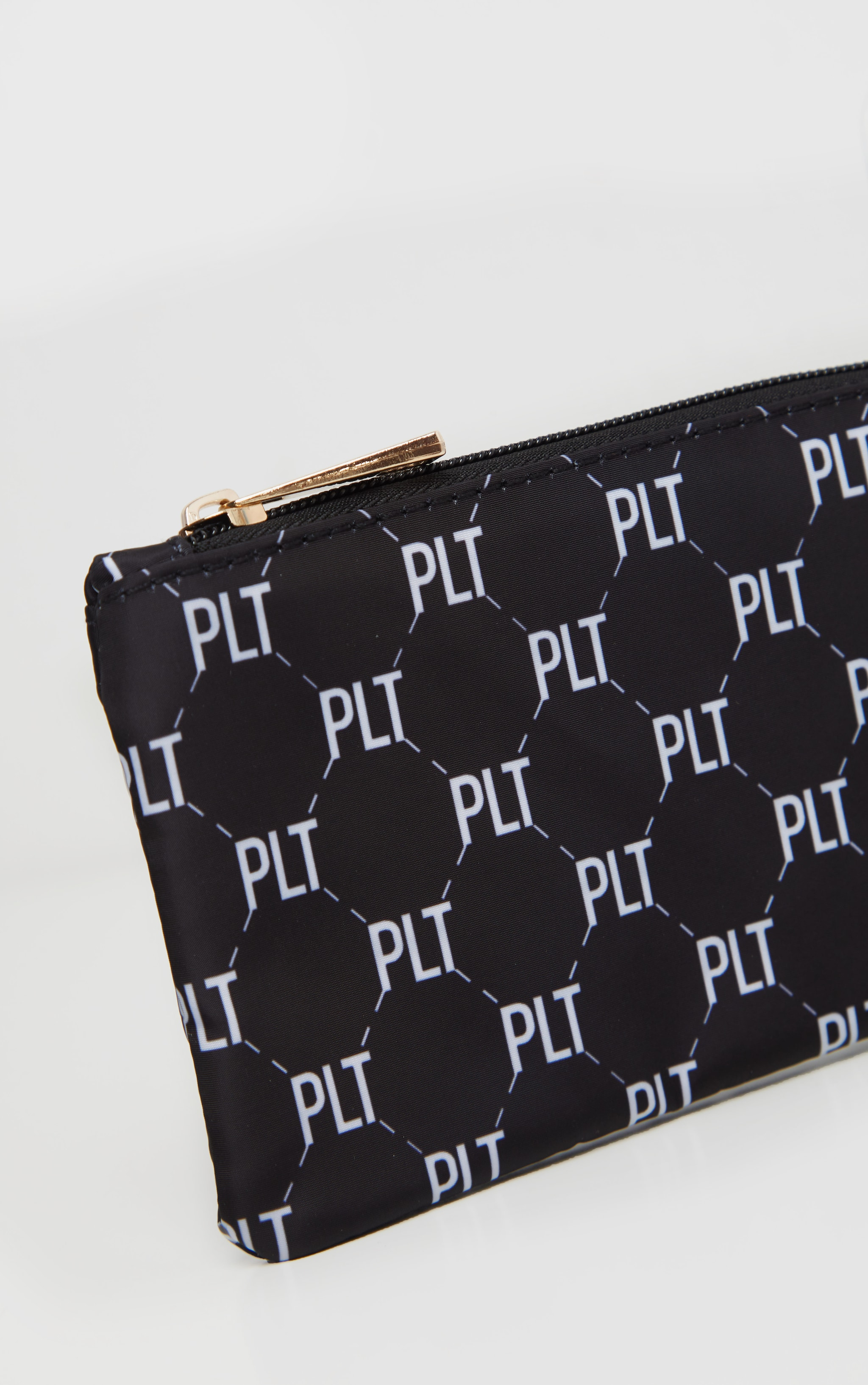 PRETTYLITTLETHING Monogram Monochrome Pencil Case 4