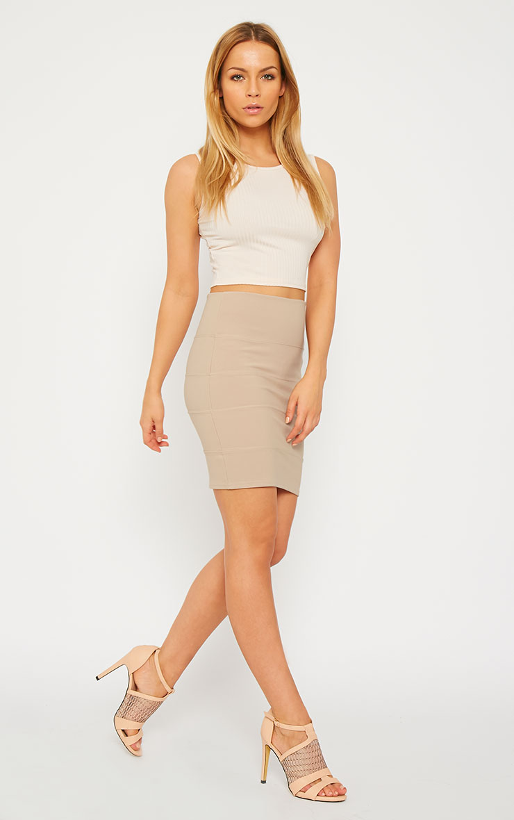 Anel Stone Bandage Mini Skirt  1