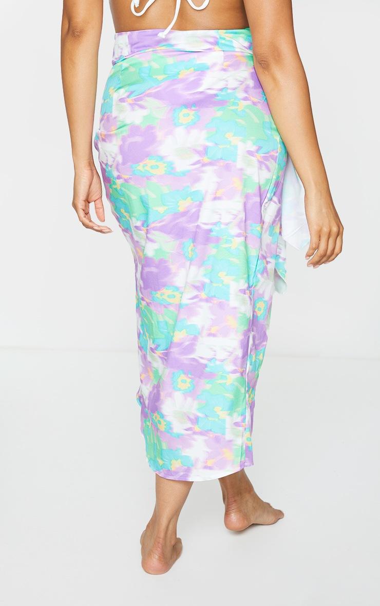 Multi Knot Front Midi Skirt 3