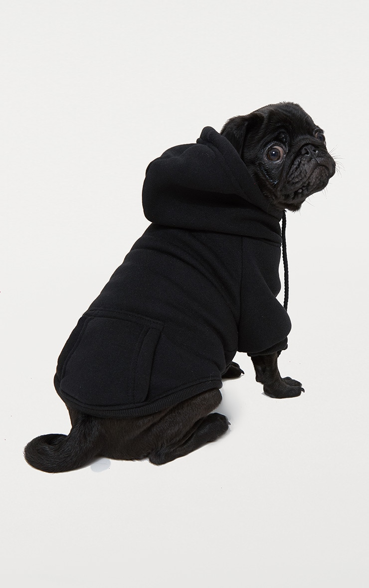 Black Doggy Hoodie  2