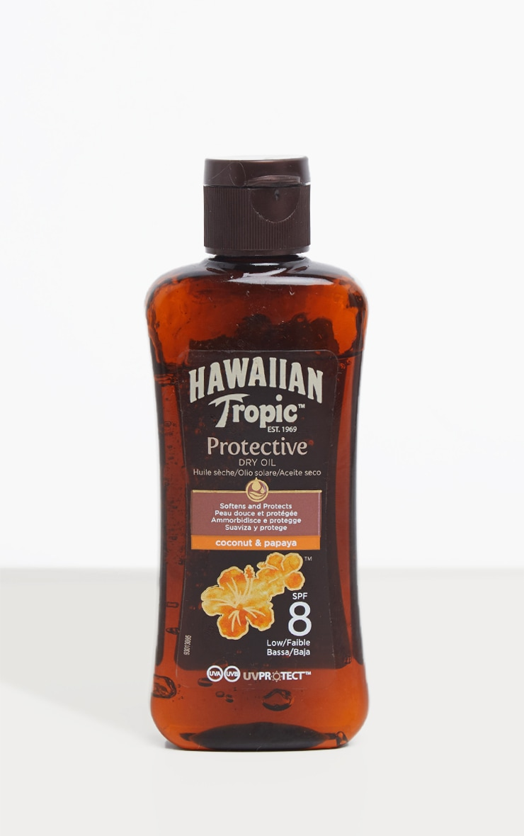 Hawaiian Tropic Protective Dry Oil SPF 8 Mini 100ml 1