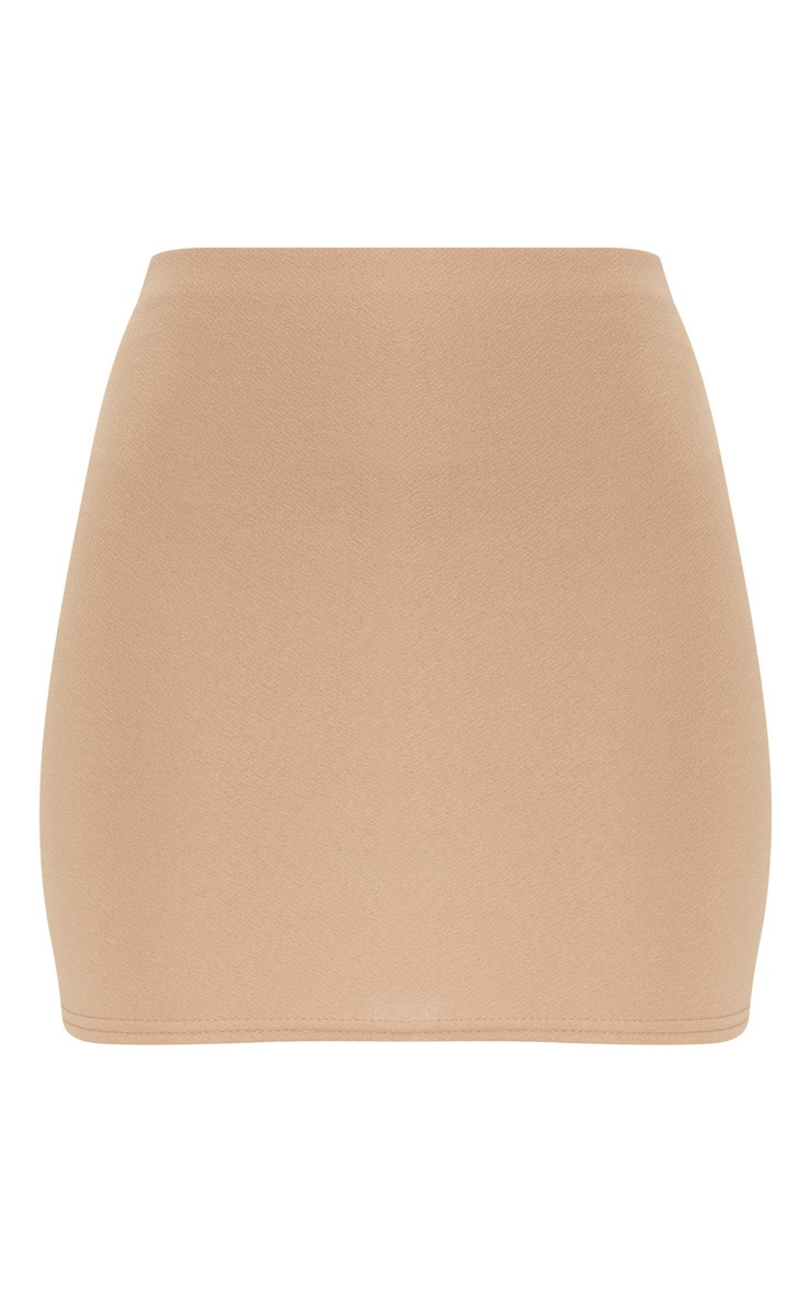 Camel Mini Suit Skirt 3