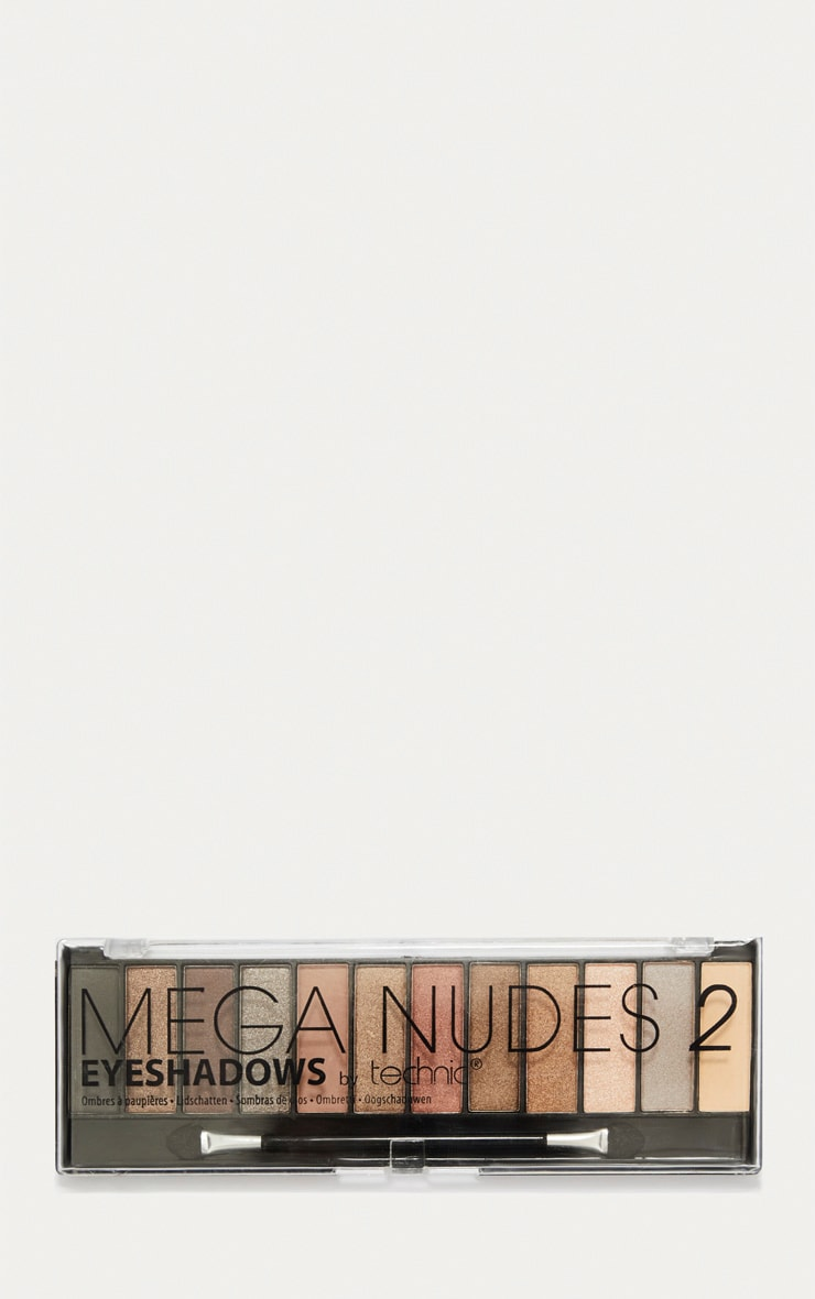 Technic Mega Nudes 2 Eyeshadow Palette 2