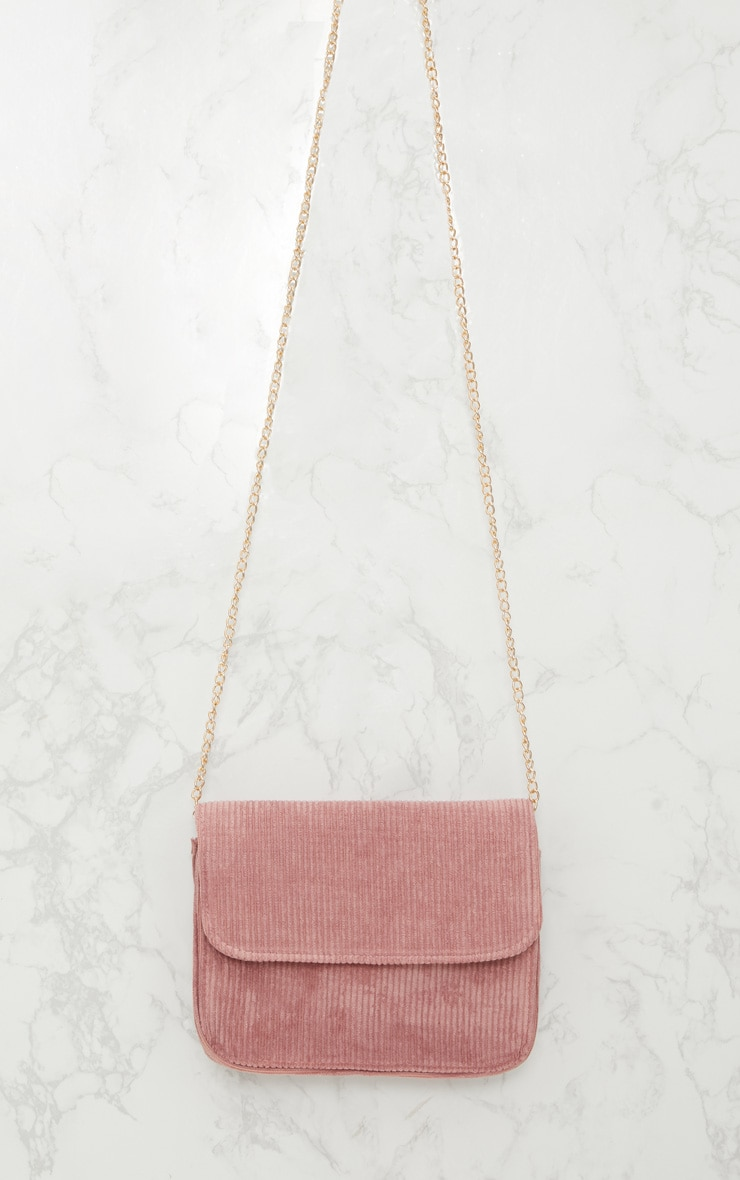 Rose Basic Corduroy Shoulder Bag 5