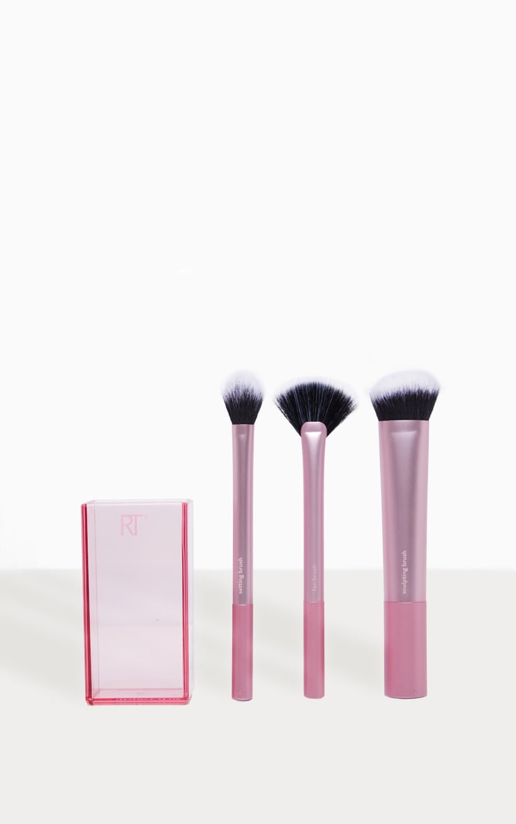 Real Techniques Make Up Brush Sculpting Set With Brush Storage 2