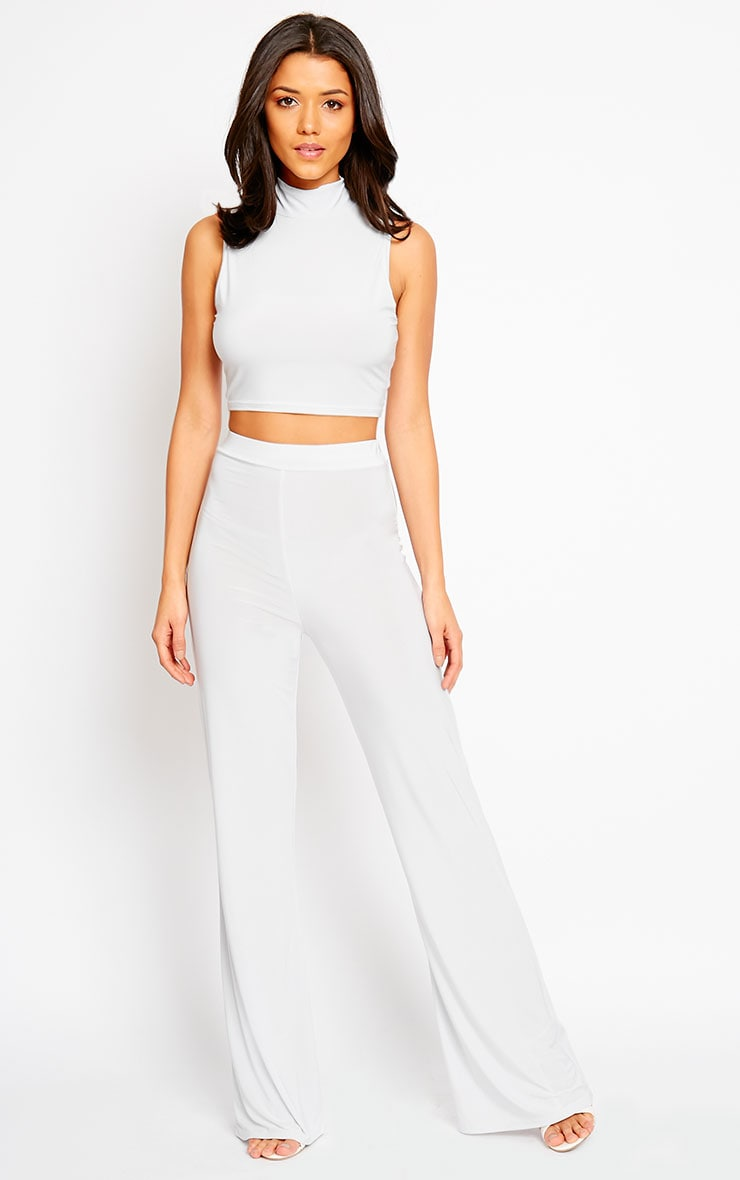 Remi Grey Soft Touch Crop Top 3
