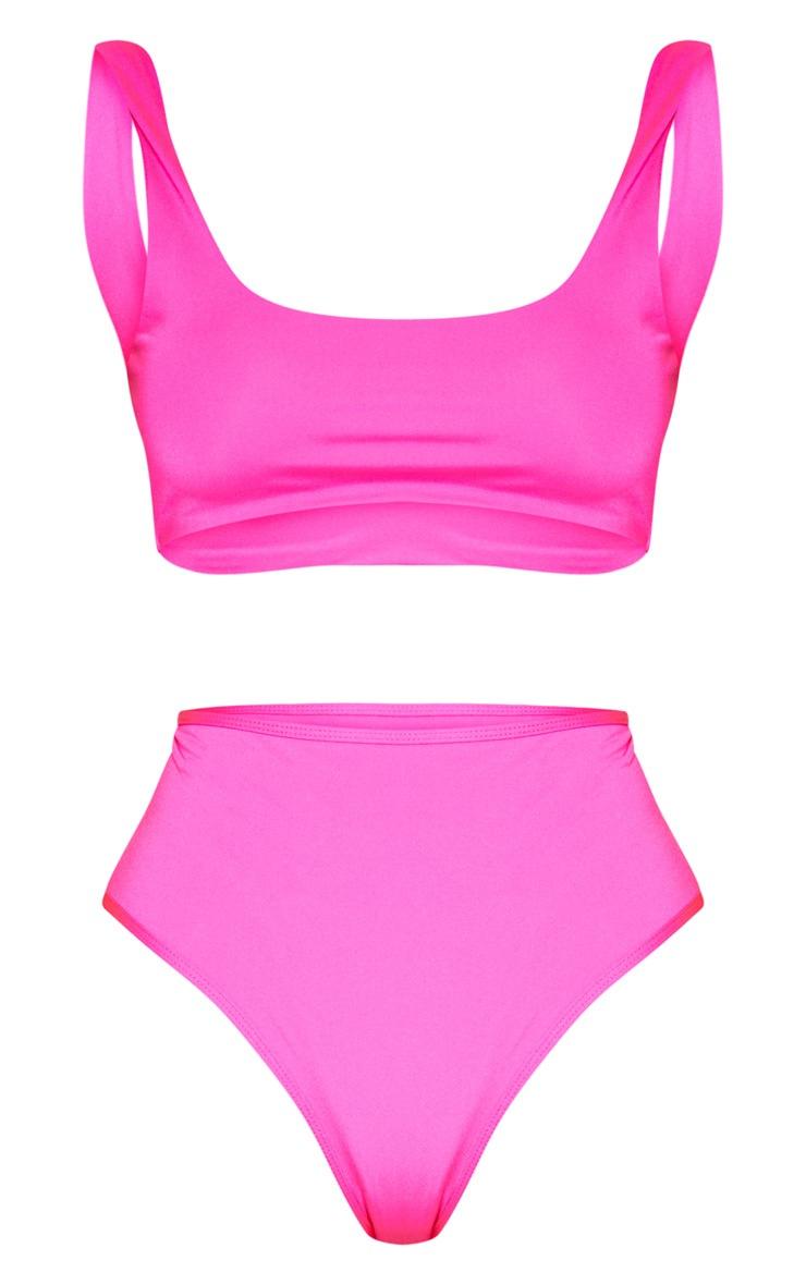 Pink Mix & Match Scoop Neck Top 4
