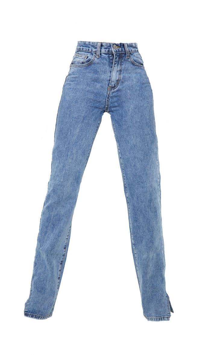 Tall - Jean bleu vintage à ourlet fendu 5