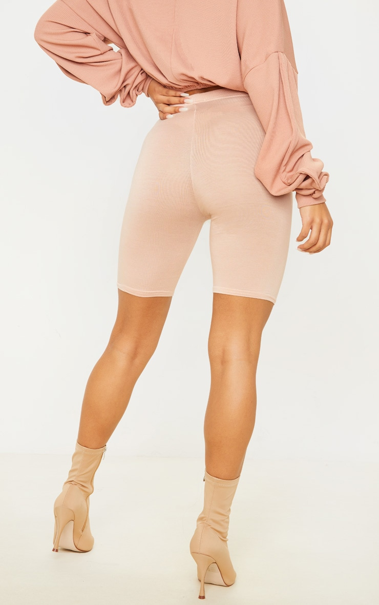 Basic Nude Bike Shorts 4