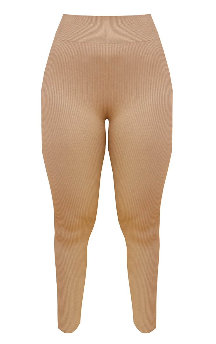 Nude Premium Ribbed Seamless Legging 5