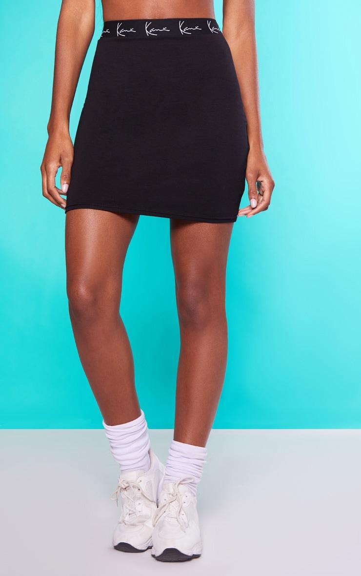 KARL KANI Black Bodycon Skirt  2