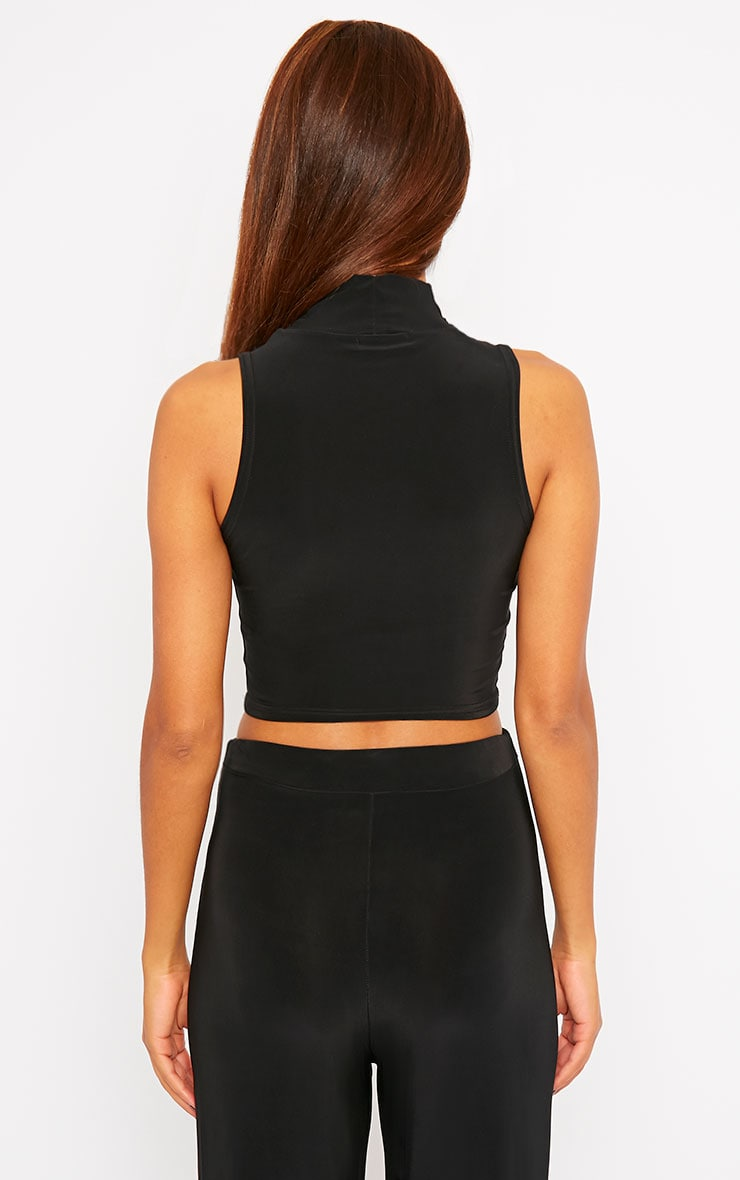 Remi Black Soft Touch Crop Top 2