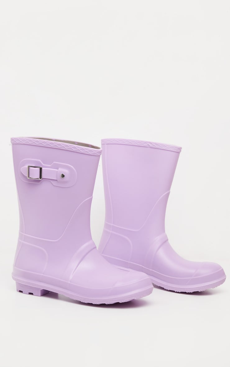 Lilac Pastel Wellie 3