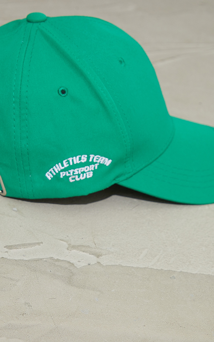 PRETTYLITTLETHING Green Sports Cap 3