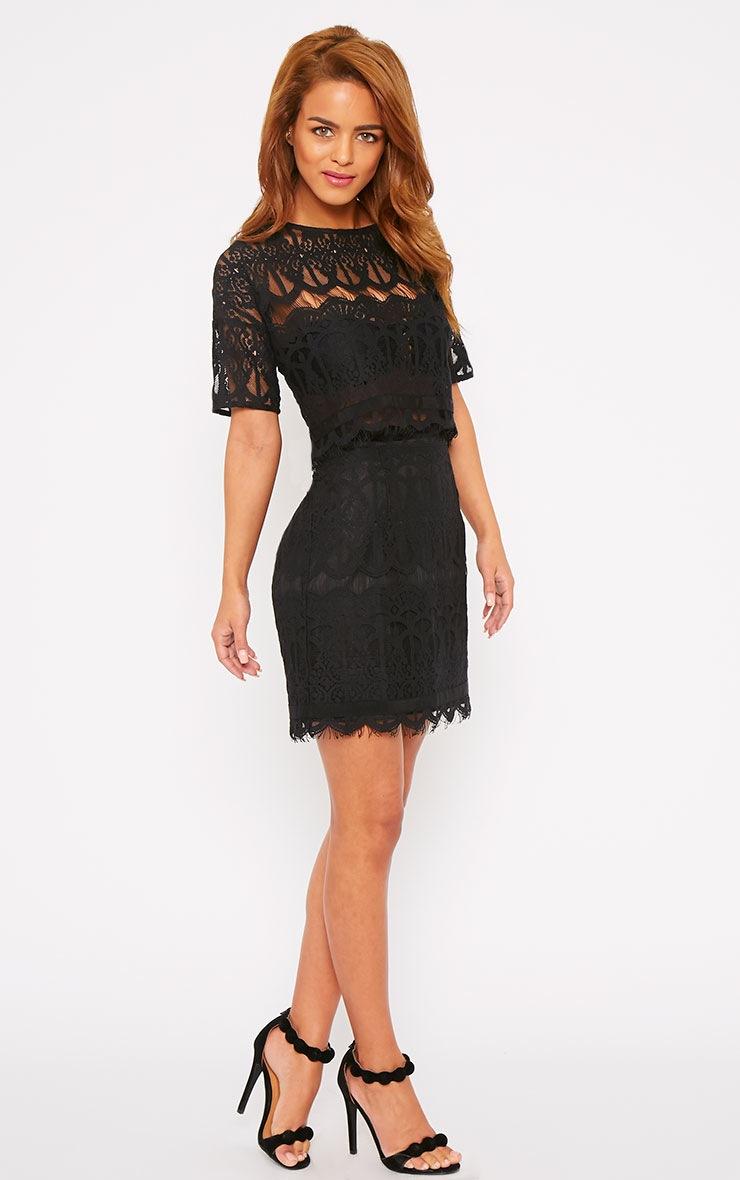 Linnea Black Lace Skirt 5