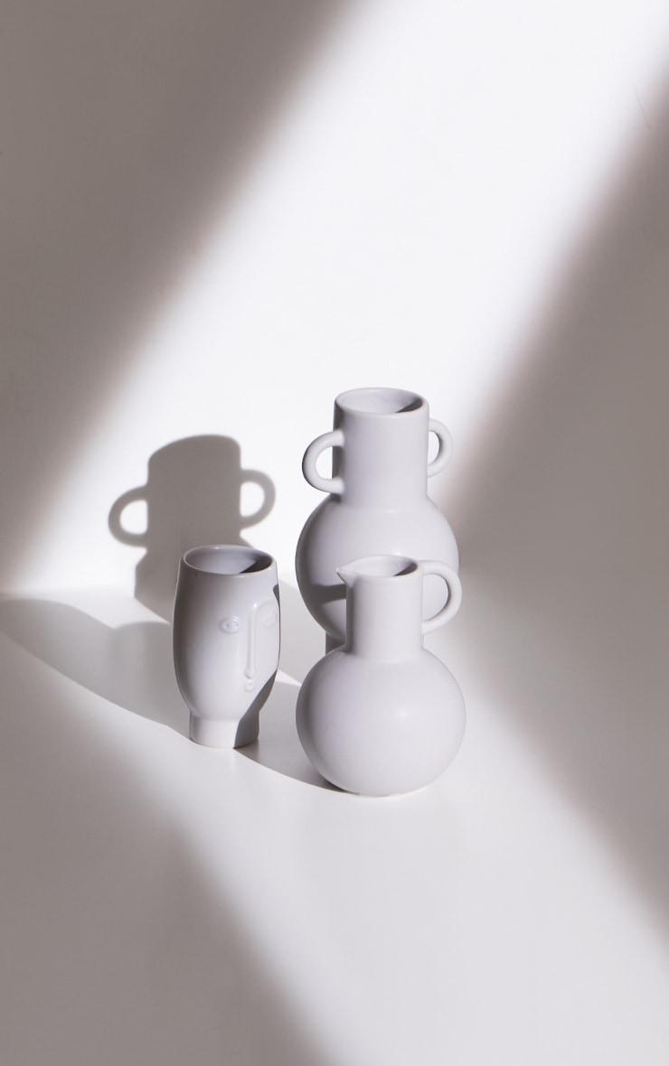 Grey Totem Grey Vase 6