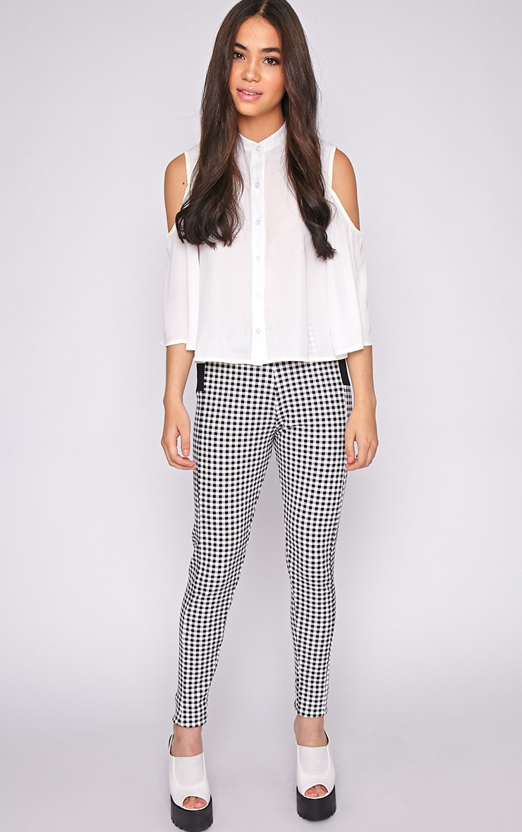Luana Monochrome Gingham Legging 1