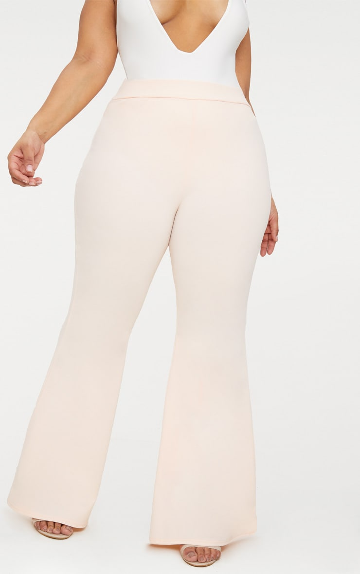 Plus Nude Extreme Wide Leg Trousers 2
