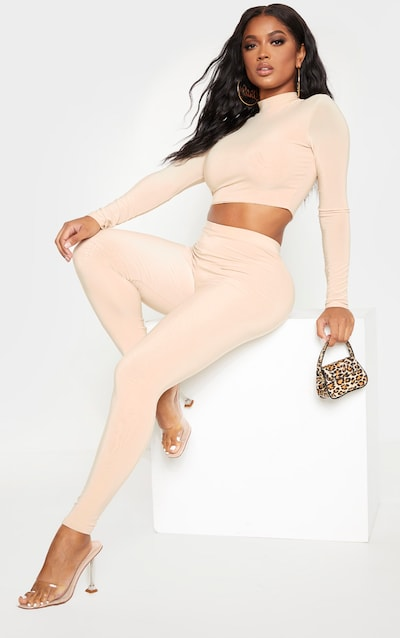 Shape Biscuit Slinky High Waisted Legging