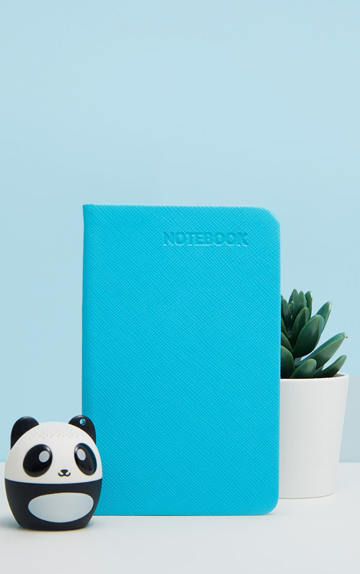 Blue Neon A6 Notebook  1