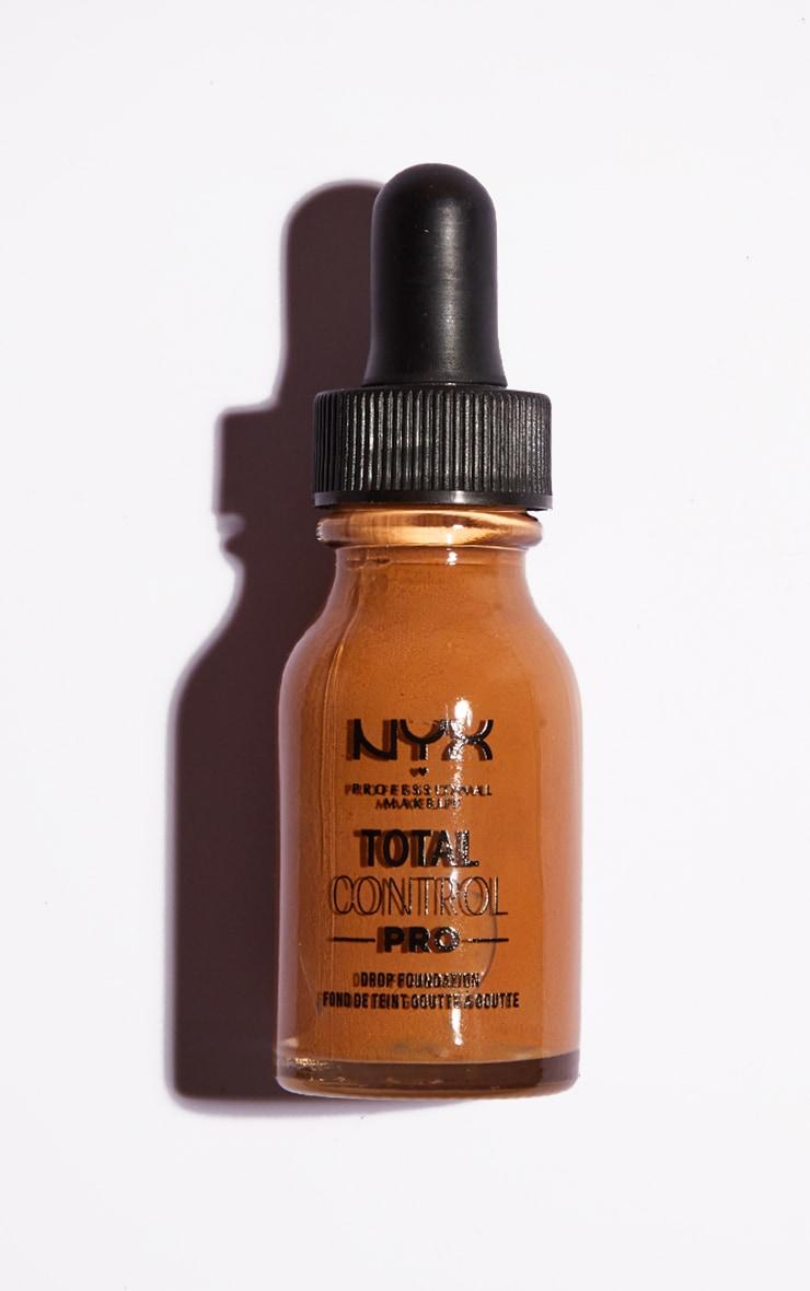 NYX PMU Total Control Pro Drop Controllable Coverage Foundation Almond 2